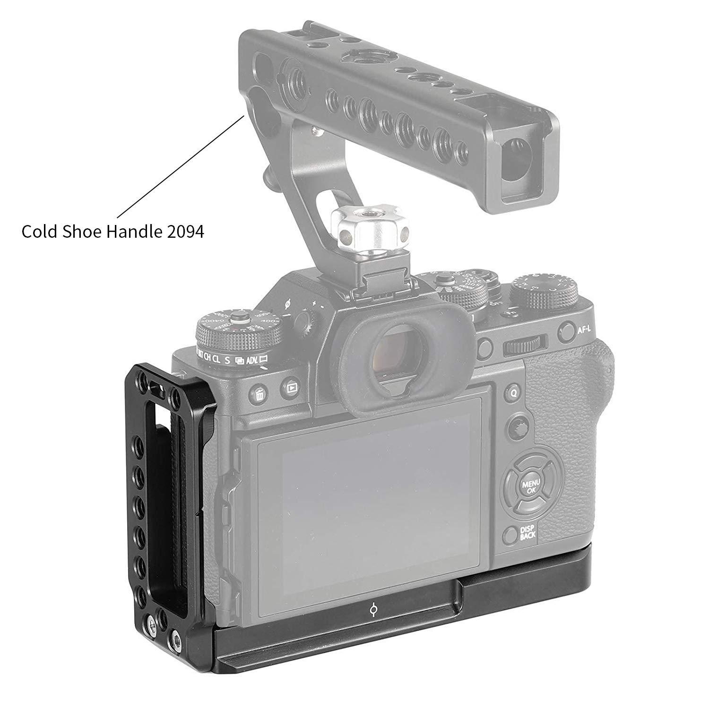 L-Soporte con Empu/ñadura de Madera Incorporada SMALLRIG L Bracket Compatible con Fujifilm X-T3 y X-T2 2253