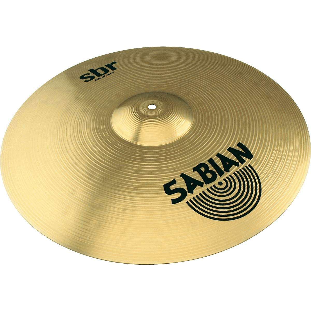 16-Inch Crash and 20-Inch Ride Cymbals Sabian SBR Performance Pack with 14-Inch Hat