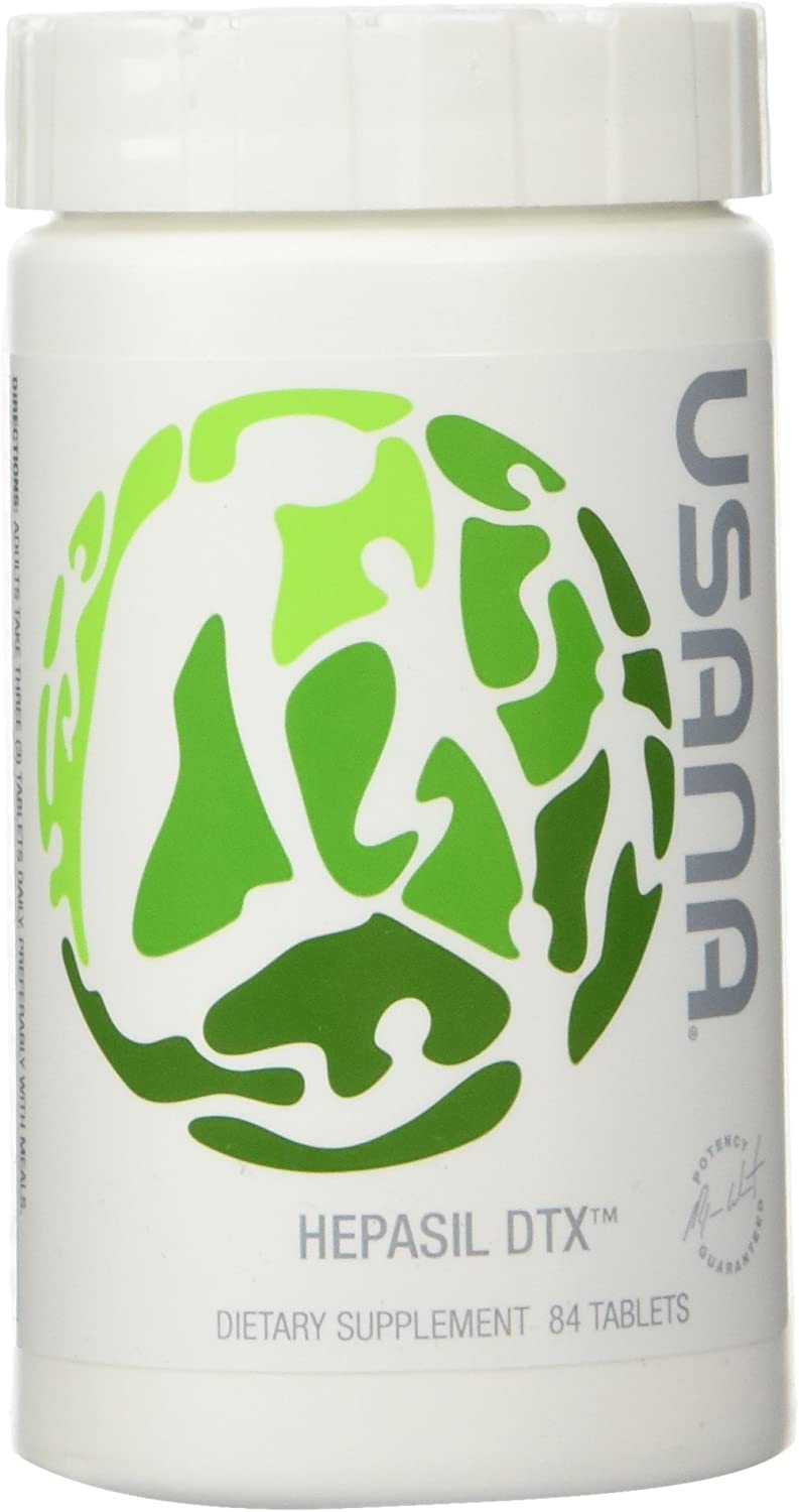 USANA Hepasil DTX Liver Detoxification Supplement 84 tablets