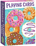Peaceable Kingdom Assorted Donuts Playing Card Deck of 52 Cards plus 2 Jokers with Box