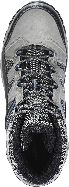Hi-Tec Bandera Lite WP Shoes Men Charcoal//Grey//Goblin Blue 2019