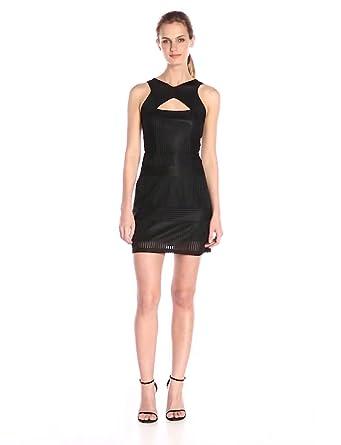 Amazon Glamorous Womens Bodycon Dress Black Small Clothing