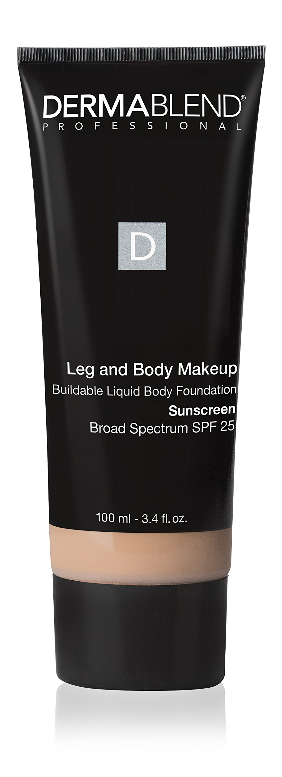 Dermablend Leg and Body Makeup Foundation with SPF 25, 10N Fair Ivory, 3.4 Fl. Oz. by Dermablend