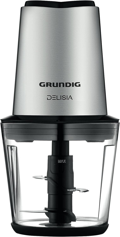 Grundig CH 7680 0.5L 500W Negro, Acero inoxidable picadora ...