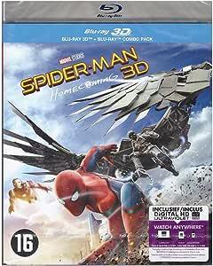 Spider Man - Homecoming Blu Ray 3D + Blu Ray [Blu Ray]