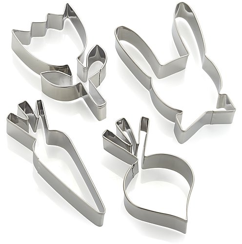 Set of 4 Easter Cookie Cutters | Crate and Barrel