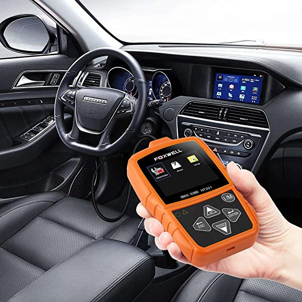 Foxwell NT201: Check Engine Light Fault Code Reader Review