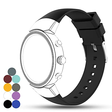 Amazon.com: Feskio Zenwatch 3 Band, Accessory Soft Silicone ...