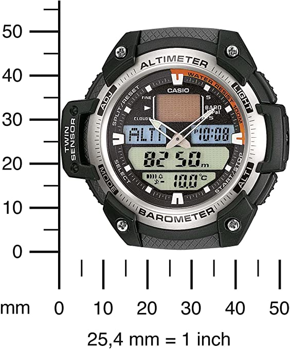 Montre Homme Casio Collection SGW 400H 1BVER: : Montres dJgzH