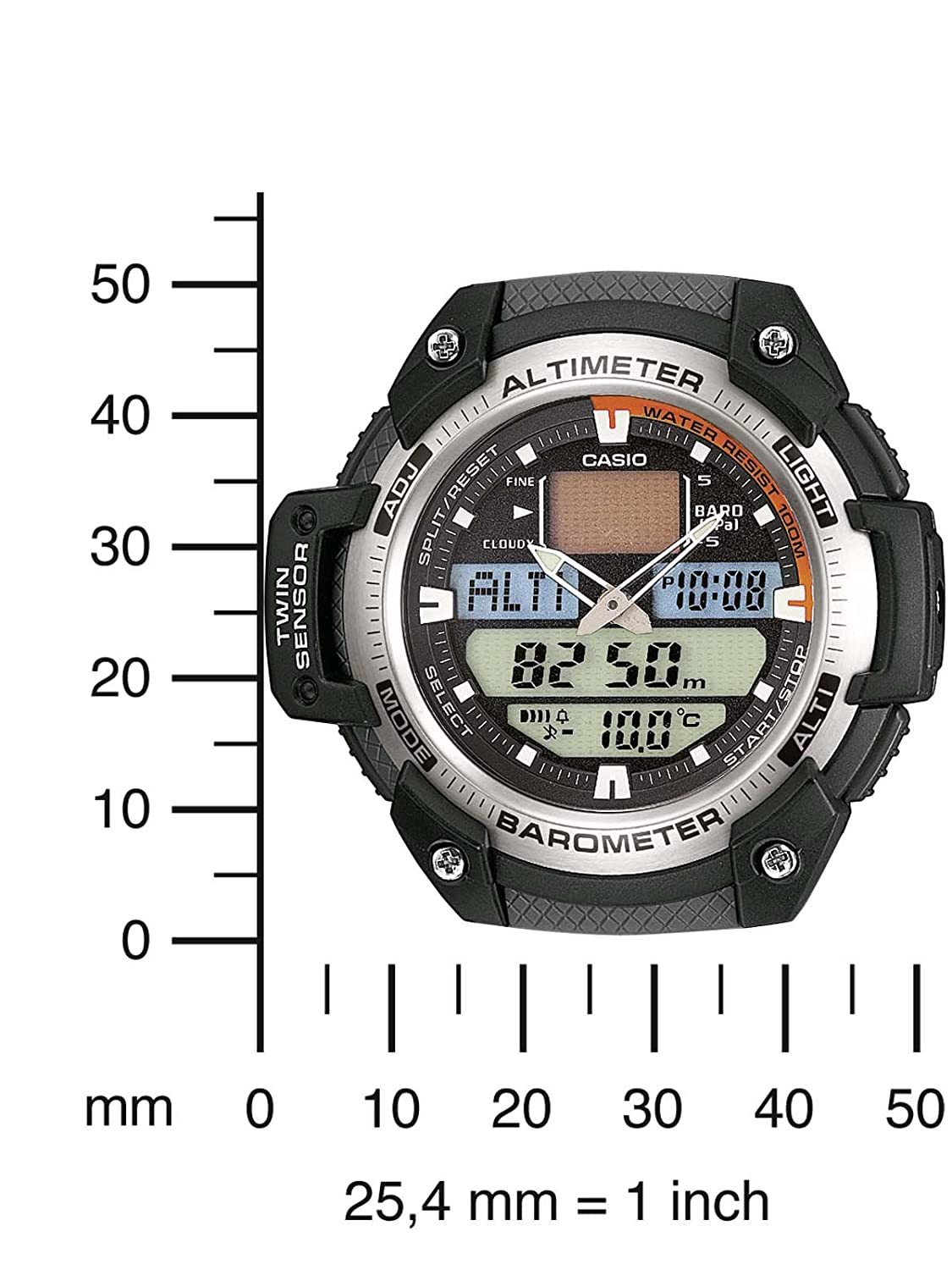 Casio Collection Mens Watch Sgw 400h 1bver Watches Ae 1000w 1a Manamp039s Waterproof Sports Electronic