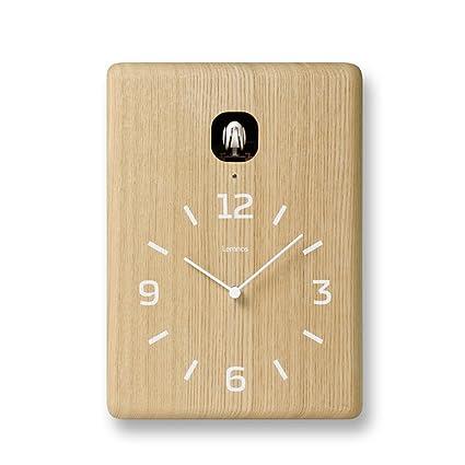 Lemnos LC10-16 Cucu - Reloj de pared con cuco, color marrón