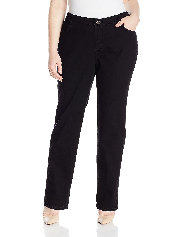 ecbdffb7842aa Riders by Lee Indigo Women s Plus Size Comfort Collection Straight Leg Jean  at Amazon Women s Clothing store