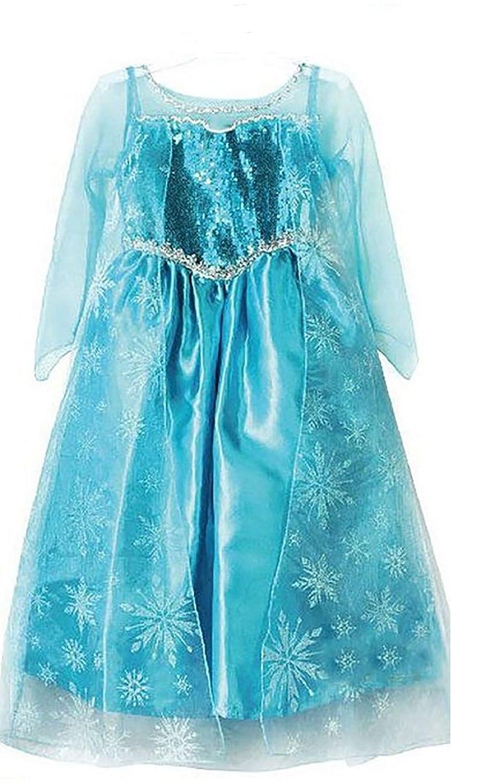 Elsa Frozen Snow Queen dress