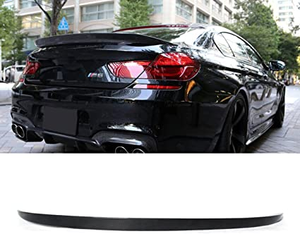 Carbon Fiber Rear Trunk Lip Spoiler For BMW F06 F13 640i 650i M6 Grand Coupe