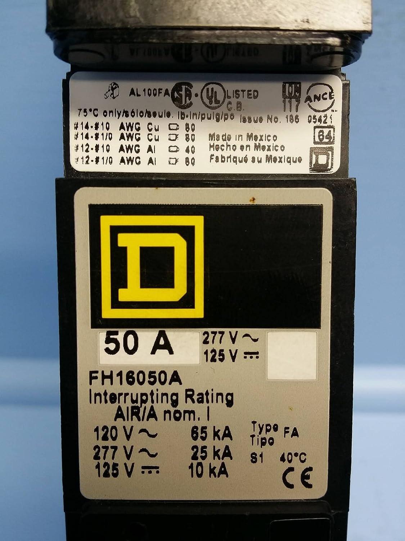 Square D FH16050A