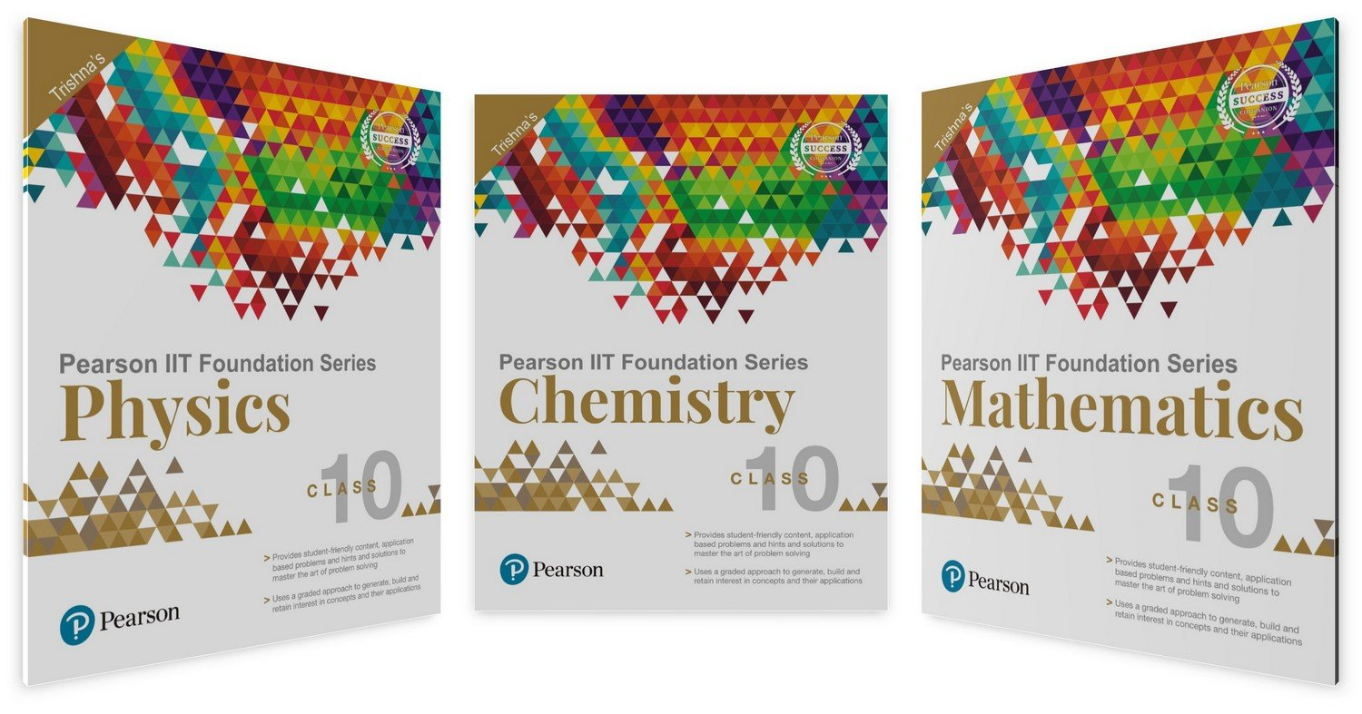 Buy IIT Foundation Physics, Chemistry & Maths for Class 10