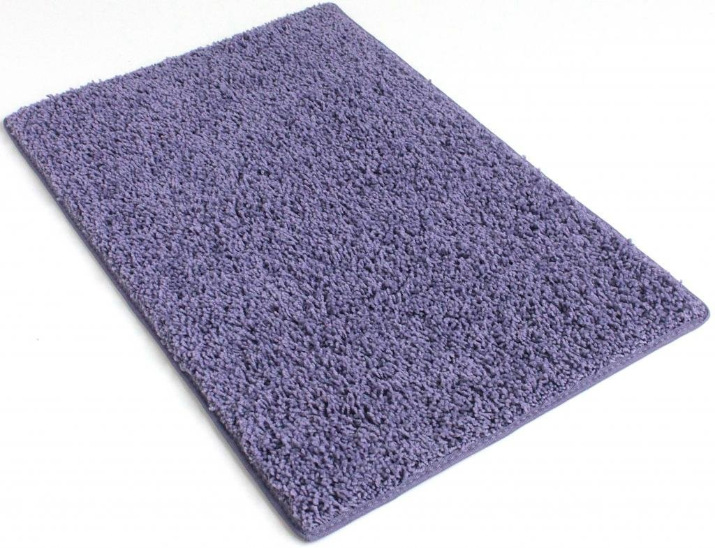 COLORFUL COLLEGE CARPET RUGS (Rectangle & Runners) - 1'' Pile HeightCozy Under Foot (Pretty Plum Purple, 2'x8')