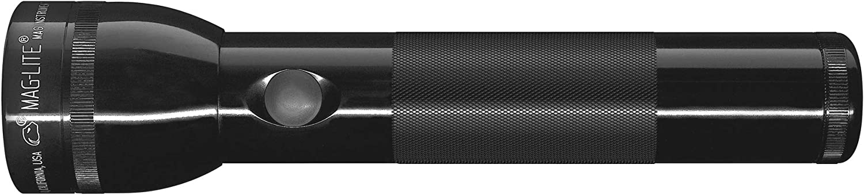 Maglite LED 2-Cell D Flashlight, Black - Basic Handheld Flashlights -