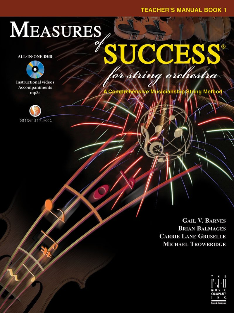 Download Measures of Success for String Orchestra Teacher's Manual Book 1 pdf