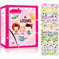 Forberesten 100PCs Waterproof Breathable Cute Cartoon Band Aid Hemostasis Adhesive Bandages First Aid Emergency Kit for Kids Children