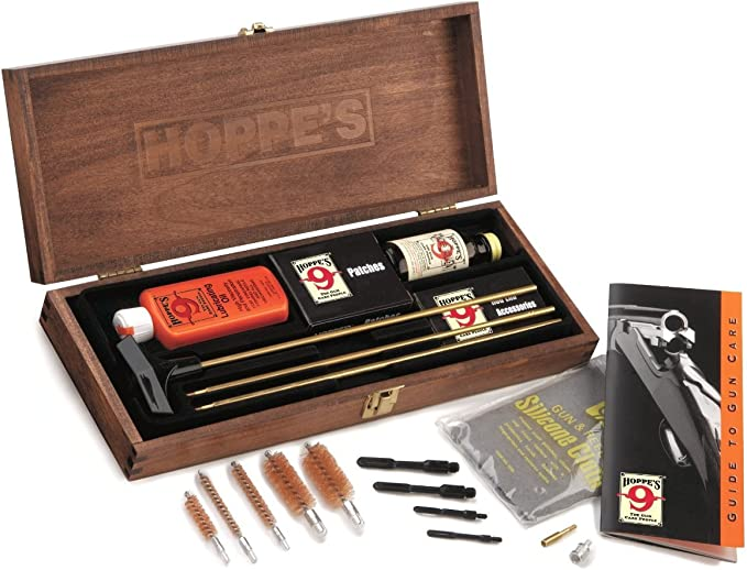 Best Gun Cleaning Kit :  Hoppe's No. 9 Deluxe Gun Cleaning Kit