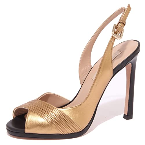Lopez Sandal 8875p Pura Donna Shoe Scarpa Sandalo Oro Woman40 E2DH9WI
