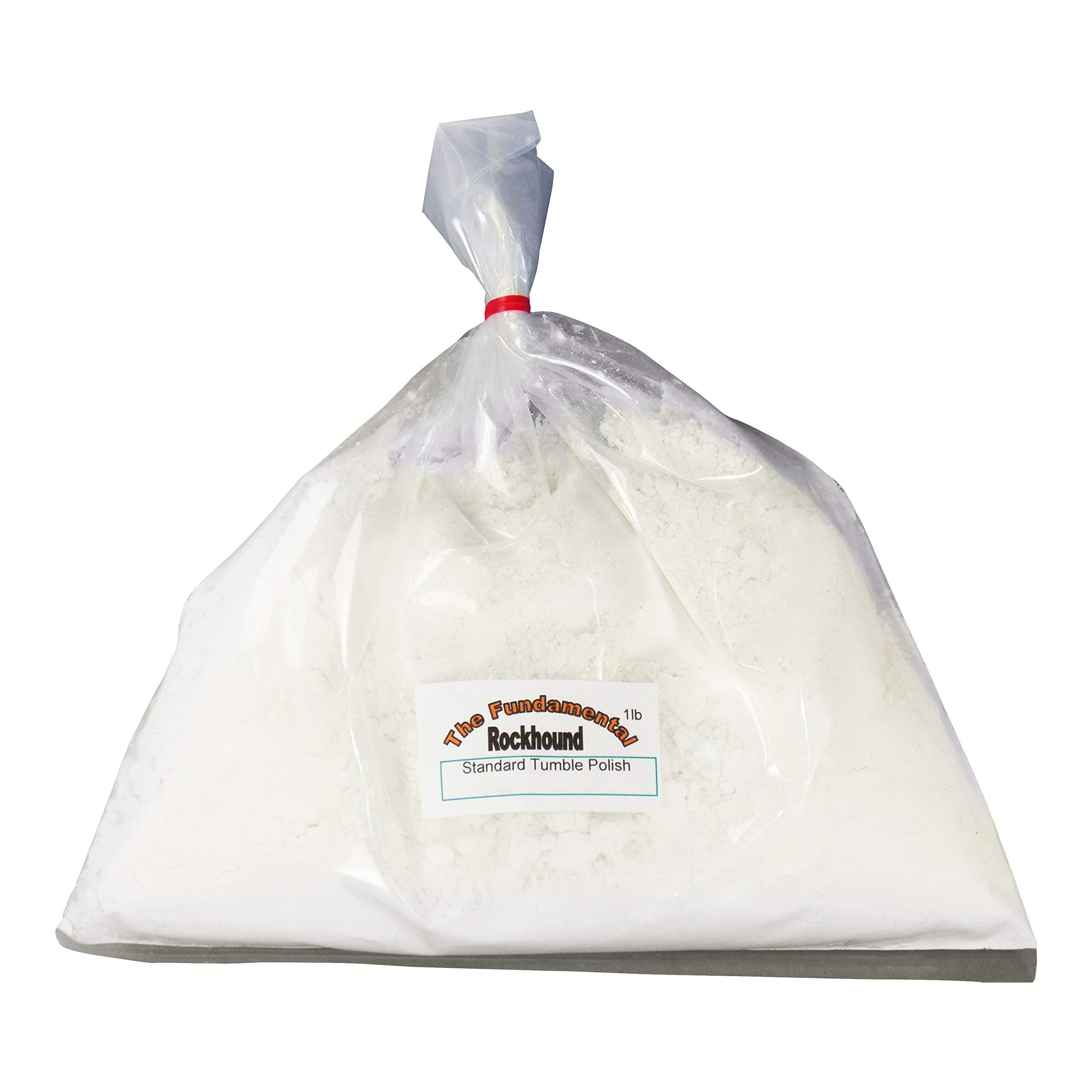 Fundamental Rockhound Products: Standard Aluminum Oxide Tumble Polish for Rocks and Glass (3 lb)