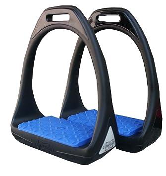 Compositi /Étrier en plastique /Étrier Reflex en plastique avec surface de pes/ée Flexible Large Noir//Rouge