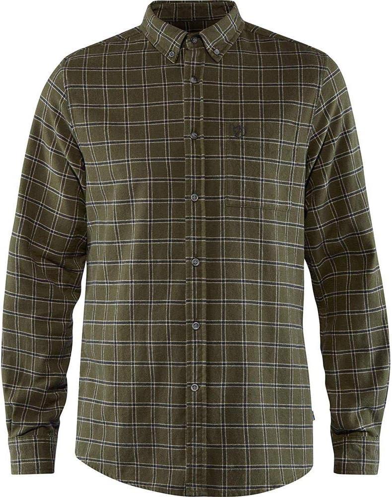 FJALLRAVEN /Övik Flannel Shirt M Camisa Hombre