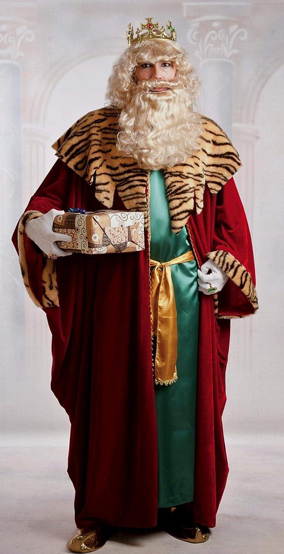 Disfraz de Rey Gaspar para hombre: Amazon.es: Juguetes y juegos