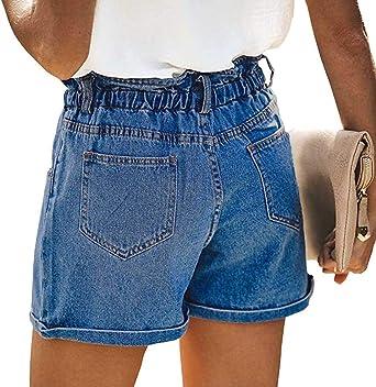 Boyfriend dżinsy damskie, krÓtkie, styl vintage, dżinsy: Odzież