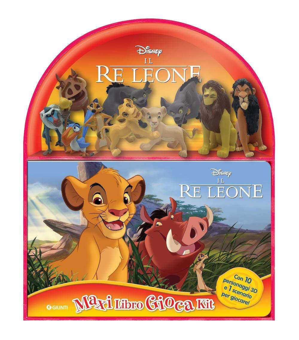 10 Confezione Deluxe Figure Set Disney IL RE LEONE DA COLLEZIONE