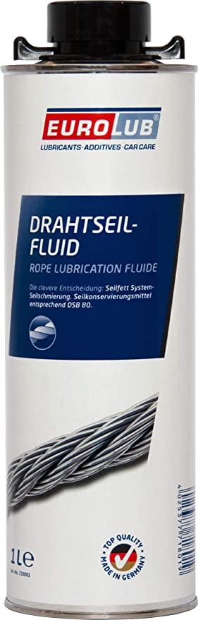 Eurolub Drahtseil Fluid Spray 1 Liter Auto