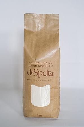 DeSpelta Harina Fina de Trigo Negrillo 1kg
