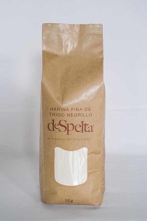 DeSpelta Harina Fina de Trigo Negrillo 1kg: Amazon.es: Alimentación y bebidas