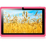 """iRULU eXpro 1 Tablet (X1), 7"""" Table, Quad Core, 1.3GHz, 16GB Nand Flash, Google Android 4.4, Resolución: 1024*600,Color Rosa"""