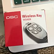 DSC WS4939 Wireless Key Fob