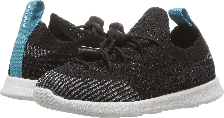 Native Shoes Baby AP Mercury Liteknit Child Sneaker Jiffy Black//Shell White 6 Medium US Toddler