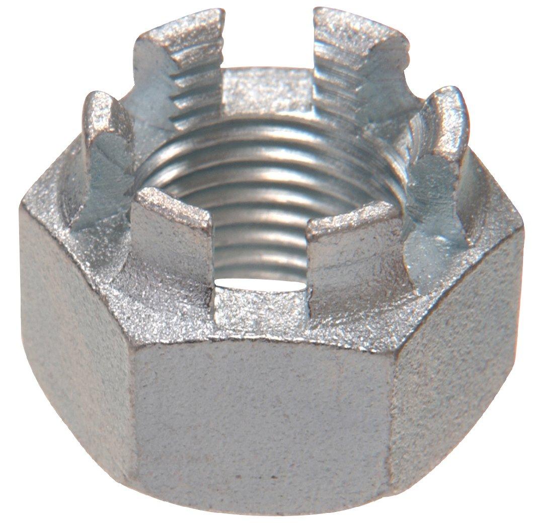 The Hillman Group 44070 M16-1.50 Metric Castle Nut, 5-Pack