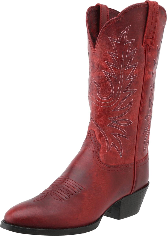 Ariat Women's Heritage Western R Toe Western Cowboy Boot B00F3D4RU8 6.5 B(M) US|Redwood