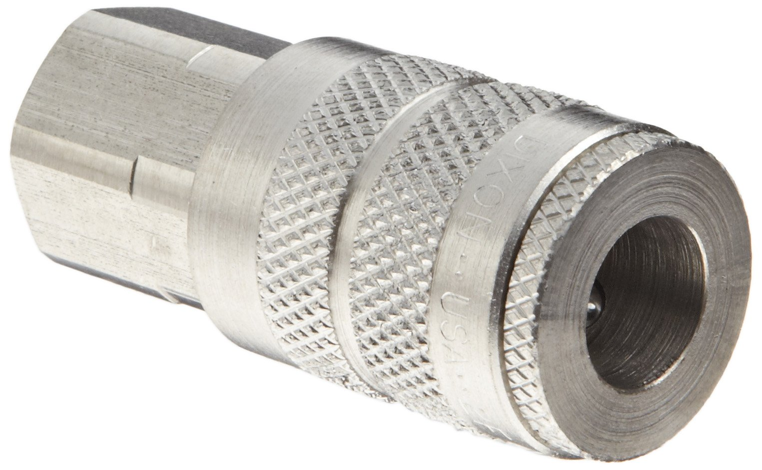 Dixon DC20S Stainless Steel 303 Air Chief Industrial Interchange Quick-Connect Hose Fitting, 1/4'' Coupling x 1/4'' NPT Female