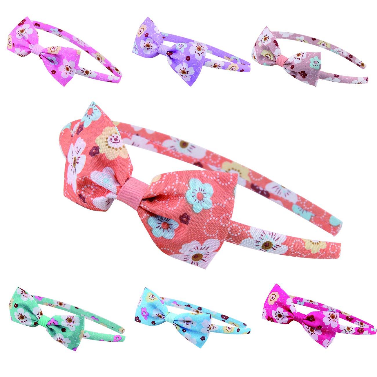 Candygirl 10mm Fascia per Capelli Bambine e ragazze Cerchietto per Capelli Fiori Accessorio dei Cape
