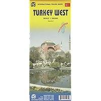 Turkey West Travel Reference Map 1:550,000 Waterproof