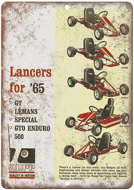 Amazon com: 1965 Lancers RUPP Go Kart Vintage Ad 12