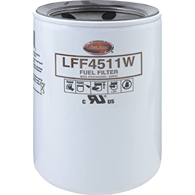 Luber-finer LFF4511W-30-12PK Heavy Duty Fuel Filter, 12 Pack: Automotive