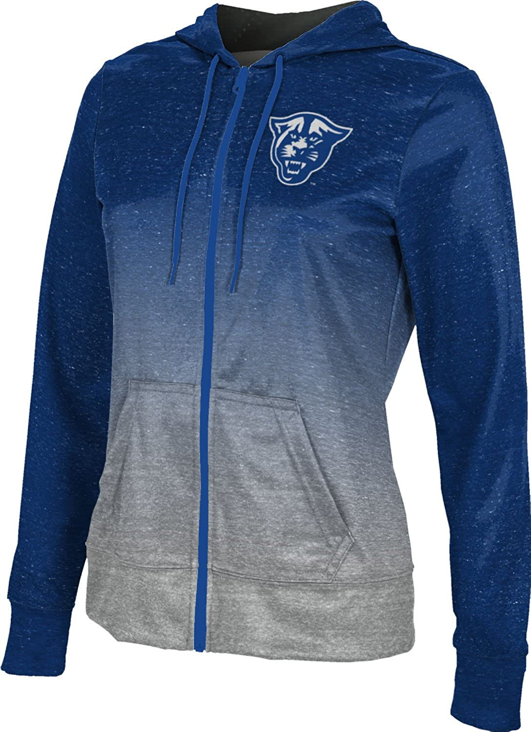 Georgia State University Girls Zipper Hoodie School Spirit Sweatshirt Ombre