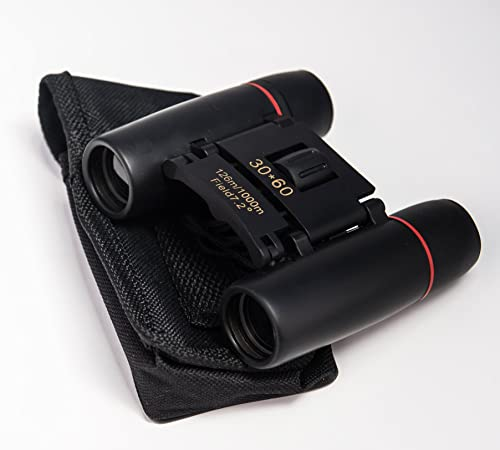 Compact Folding Binoculars -Great for Outdoor Sports, Birding, Sightseeing, Hunting and theather.