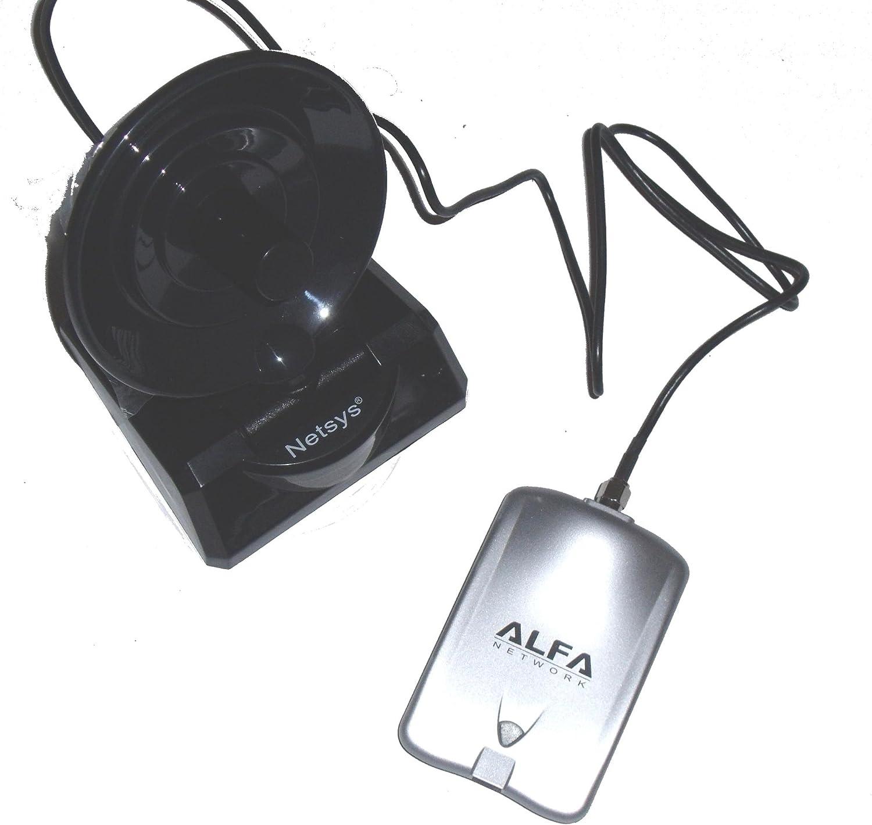 adaptador Wifi ALFA parabolica AWUS036H RTL8187L 1000mw USB ...