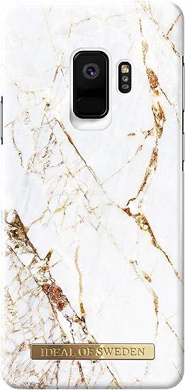 iDeal Of Sweden Carrara Coque pour Samsung Galaxy S9 Doré