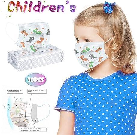 Covermason Einweg Mund-Schutz f/ür Kinder Mundbedeckung Niedlich Auto Tier Muster Gesichtsmsake Mund f/ür Kinder 4-10Jahre Schutz Sch/ützt vor Staub und Nasen